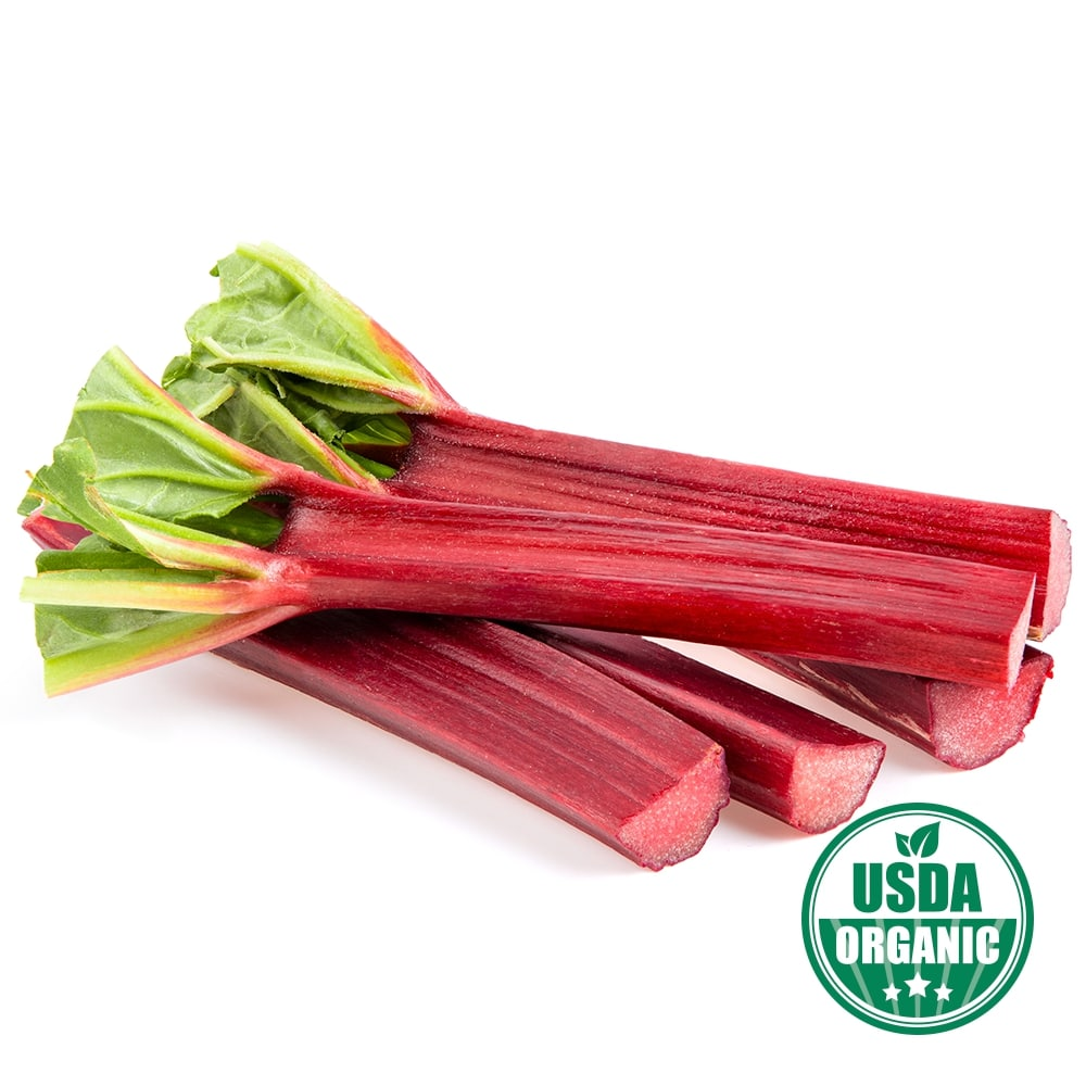 Organic Rhubarb Root